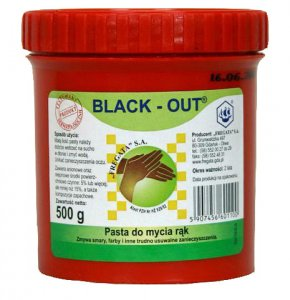 Pasta do rąk Black-Out op.500g