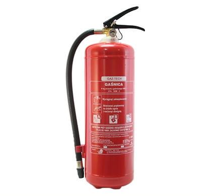 Gaśnica proszkowa 6 kg ABC GAZ-TECH