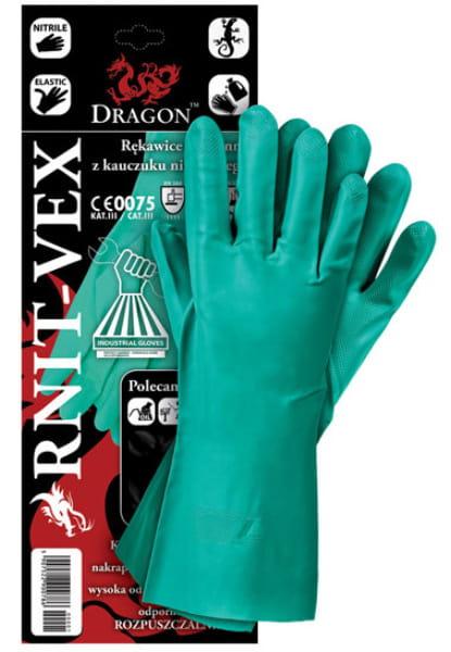 Rękawice robocze RNITVEX kwaso-olejoodporne