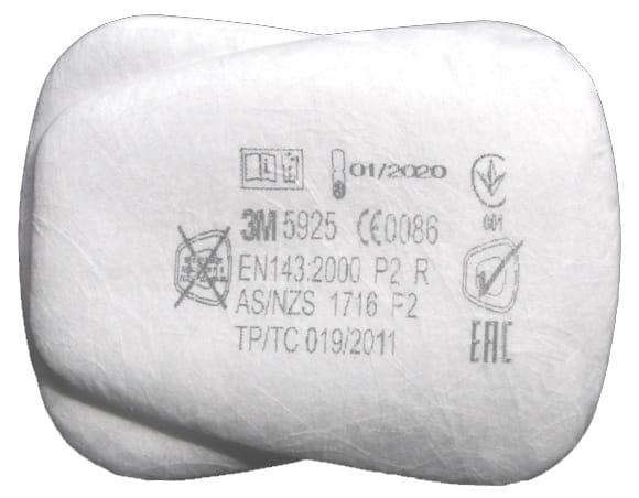 Filtr 3M 5925 P2 /op.2szt./