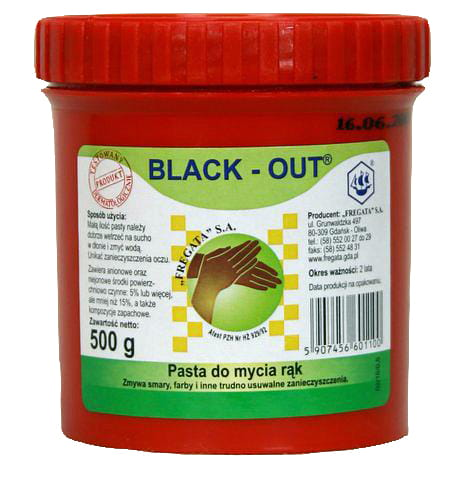 Pasta do rąk Black-Out op.500g