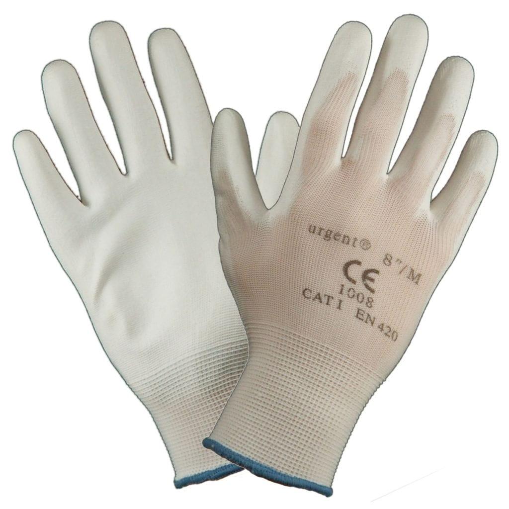 Rękawice robocze URGENT 1008 biała