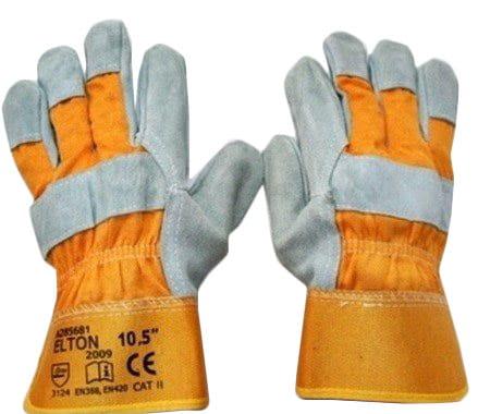 Rękawice robocze ELTON wzmacniane skórą ARD